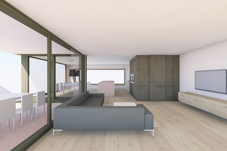 EFH Kirchberg, Architekturbüro - skizzenROLLE