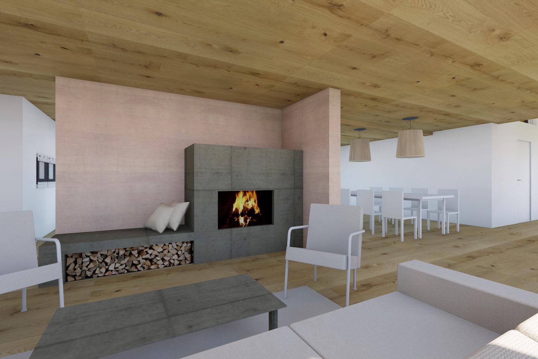 Efh dietschwil architekt skizzenrolle for Architekt einfamilienhaus